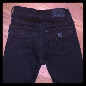 Rock & Republic black denim jeans.